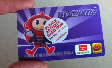 Argos Voucher from Mazuma Mobile