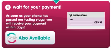 Money For Your Phone - Site Snip