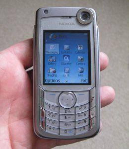 Testing our Nokia 6680